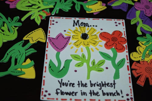 Flower Magnet for Kids to Make for Mother's Day
