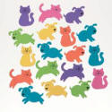 Foamies Cat & Dog Stickers (160 pk)