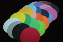 3 inch Foam Circles you can order by color