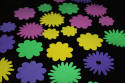 Spring Flower Assorted Foam Shapes