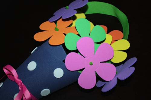 Flower Door Hanger for May Day, Mother's Day or Any Day