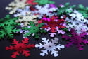 Multi Assorted Snowflake Sequins