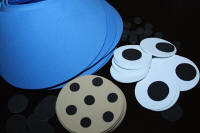Blue Visor with Cookie Supplies Kit