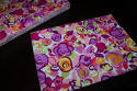 blooming bright flower felt sheets