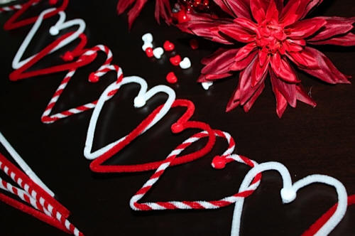 Easy Heart Garland