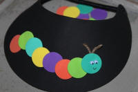Hungry Caterpillar Visor Craft for Kids!