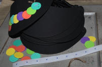 Hungry Caterpillar Visor Kits (Makes 10)