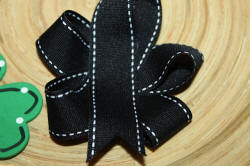 Saddle Stitch Ribbon Crafts