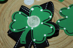 Easy Foam Shamrock Crafts
