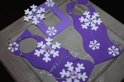 Snowflake Crafts with Baker's Cotton
