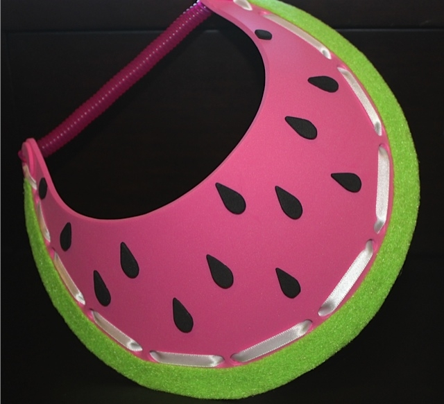 Watermelon Foam Visor